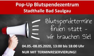 Blutspendezentrum in Bad Saulgau