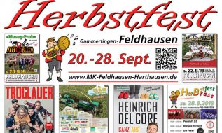 Ein Highlight: Das Herbstfest in Feldhausen