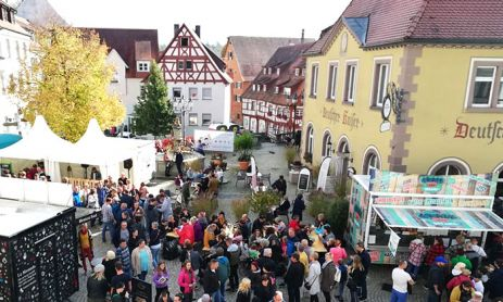 Streetfood-Festival in Pfullendorf