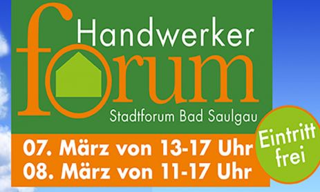 Handwerkerforum in Bad Saulgau